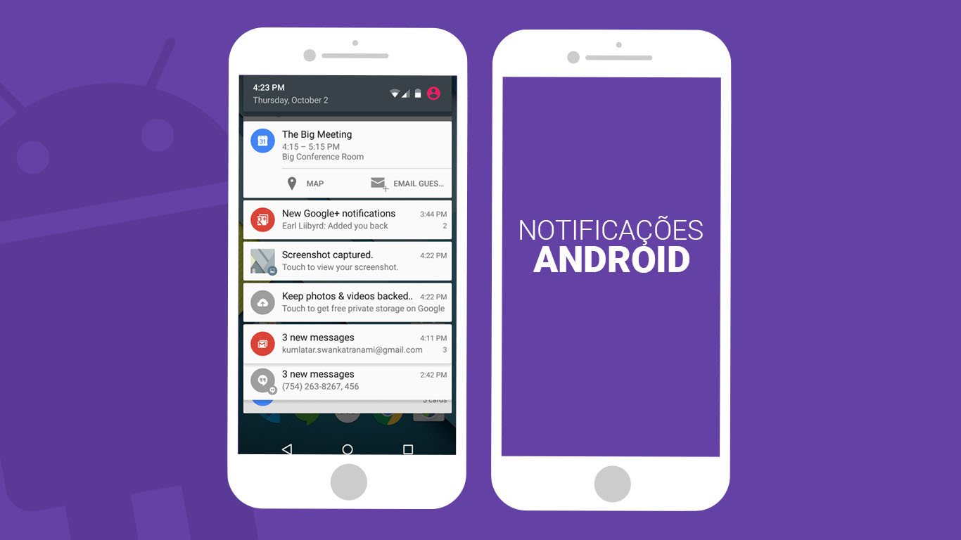 Implementando uma notificação simples no Android