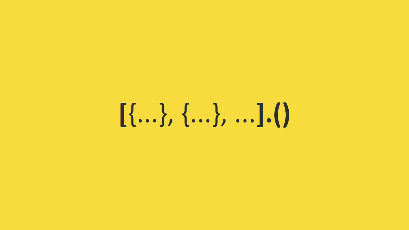 JavaScript - Métodos de Arrays