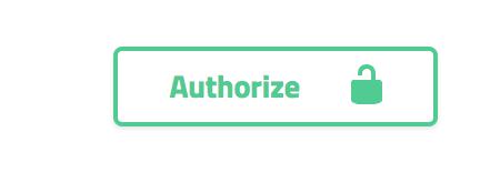 """Exibe um botão com o texto """"Autorize"""""""