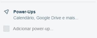 Power UPs Trello integração com Slack