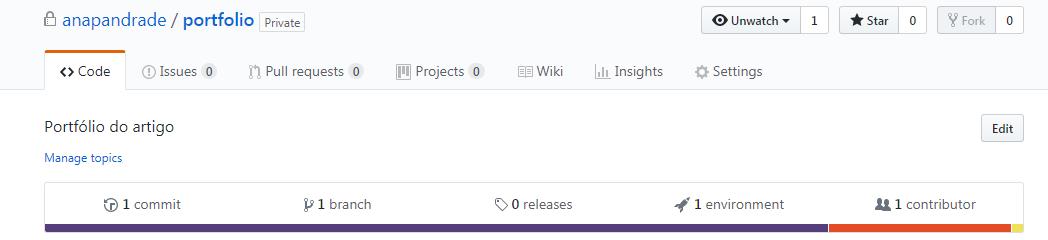 Ativando GitHub Pages