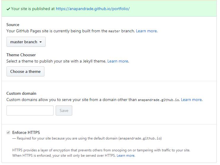 Configurando GitHub Pages
