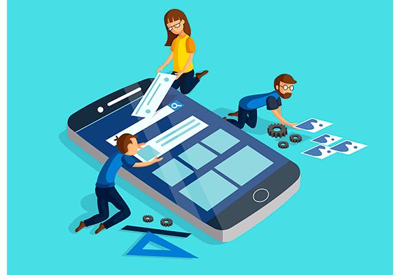 desenho de celular