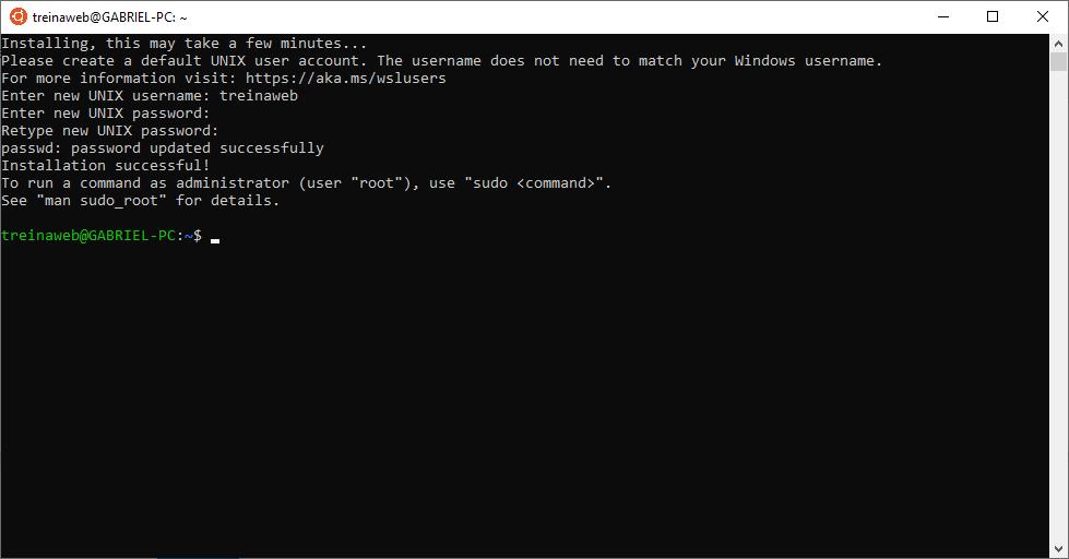 Configuração do Ubuntu 18.04