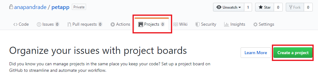Criando projeto