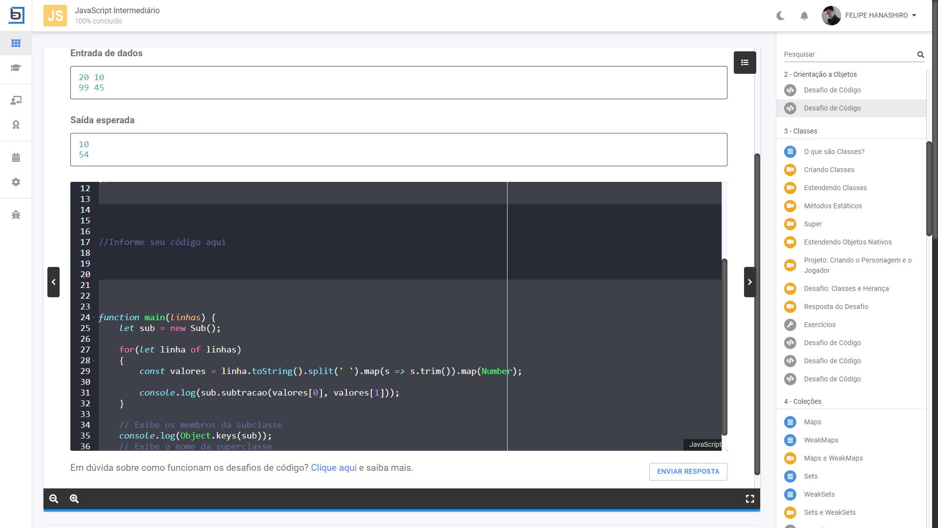 Editor de Código da TreinaWeb