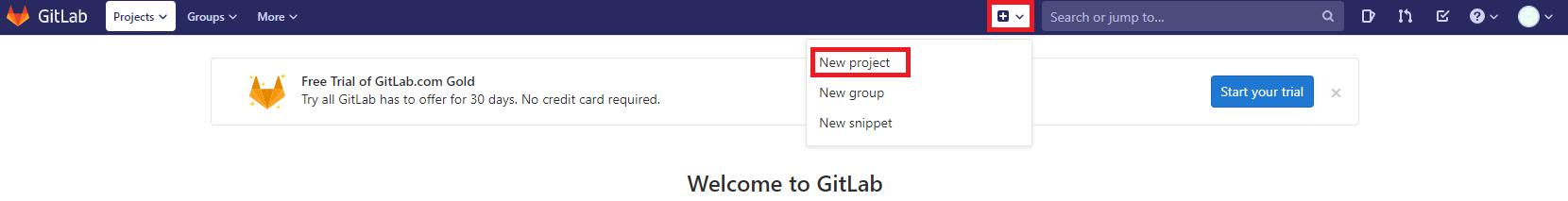 Criando repositório no GitLab