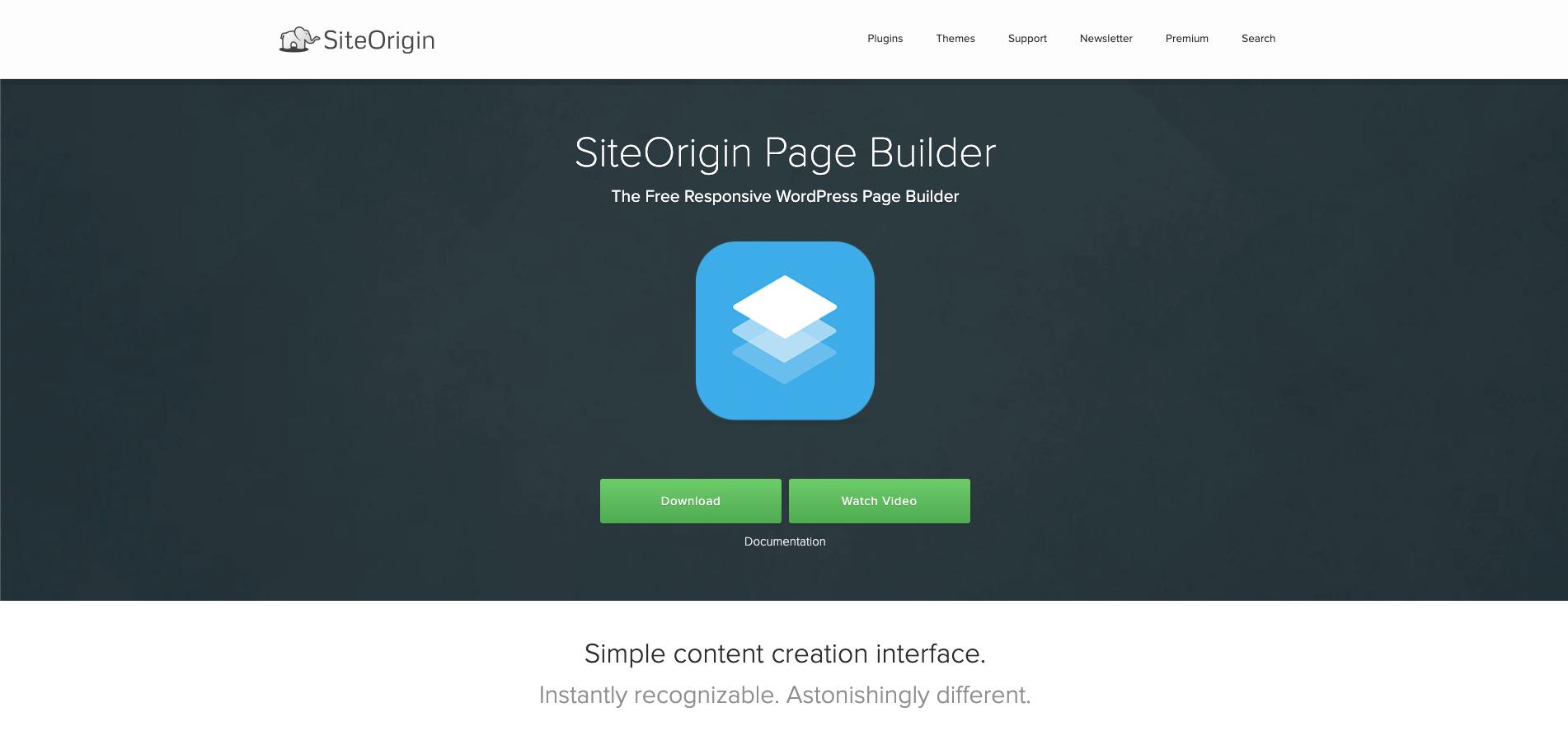 Home SiteOrigin Page Builder