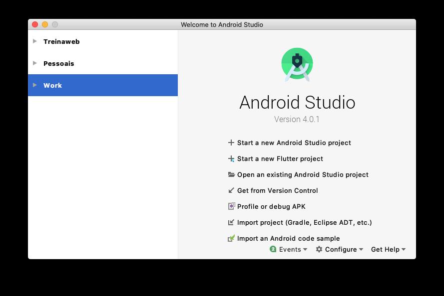 Iniciando Android Studio