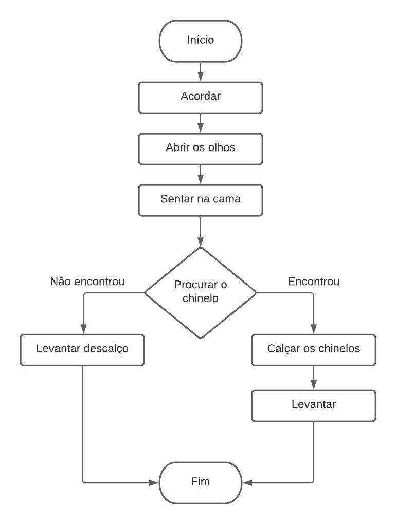 Fluxograma de exemplo