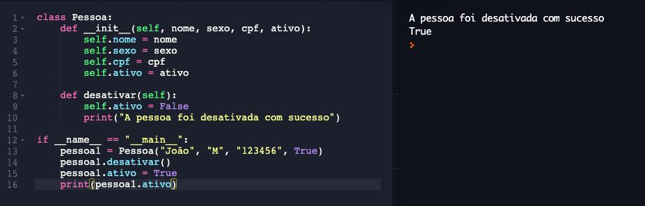 Declarando propriedades em Python