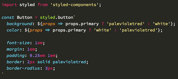 VS Code - Styled Components